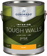 Paul's Paint Tough Walls is engineered to deliver exceptional stain resistance and washability. The ideal choice for high-traffic areas, it dries to a smooth, long-lasting finish. Add easy application, excellent hide and quick drying power, Tough Walls is your go-to interior paint and primer. Available in five acrylic sheens—and one alkyd formula—the Tough Walls line includes solutions for all your interior painting needs.boom