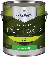 Paul's Paint Tough Walls Alkyd Semi-Gloss forms a hard, durable finish that is ideal for trim, kitchens, bathrooms, and other high-traffic areas that require frequent washing.boom