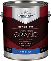 Paul's Paint Coronado Grand is an acrylic paint and primer designed to provide exceptional washability, durability and coverage. Easy to apply with great flow and leveling for a beautiful finish, Grand is a first-class paint that enlivens any room.boom