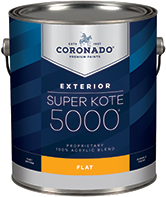 Paul's Paint Super Kote 5000 Exterior is designed to cover fully and dry quickly while leaving lasting protection against weathering. Formerly known as Supreme House Paint, Super Kote 5000 Exterior delivers outstanding commercial service.boom