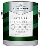 Paul's Paint Super Kote 3000 Primer is an easy-to-apply primer optimized for high productivity jobs. Super Kote 3000 is ideal for use in rental properties. This high-hiding, fast-drying primer provides a strong foundation for interior drywall and cured plaster and can be topcoated with latex or oil-based paint.boom